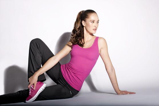 Shapewear, разработанной специально для фитнес-тренировок.