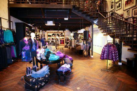 Новая концепция дизайна магазинов MEXX - METROPOLITAN CASUAL.